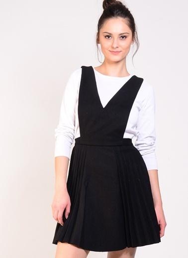 J.O.A. Elbise Siyah